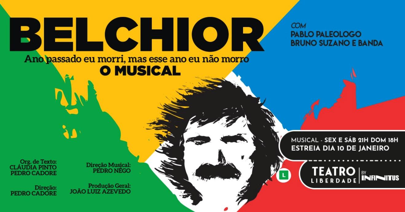 Cartaz de Belchior, o Musical