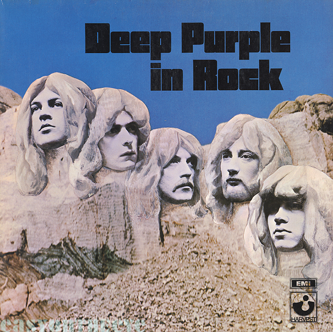 Capa do disco Deep Purple In Rock