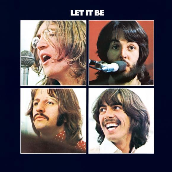 Capa do último disco lançado pela banda britânica The Beatles