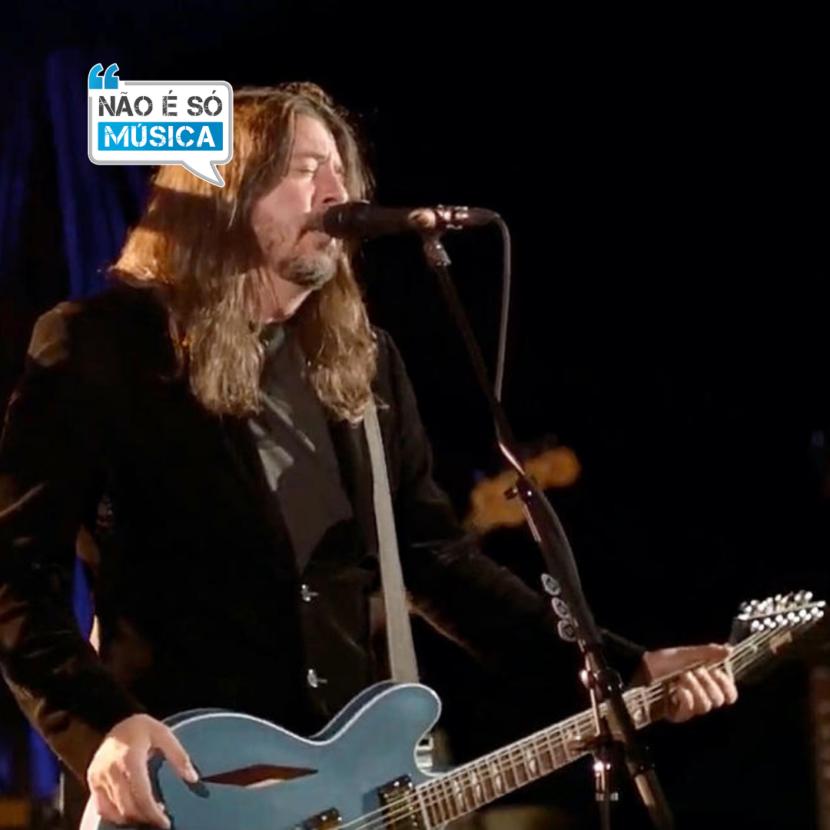 Foo Fighters tocam na cerimônia de posse de Biden